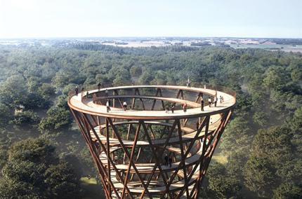 В Дании построят уникальную смотровую башню