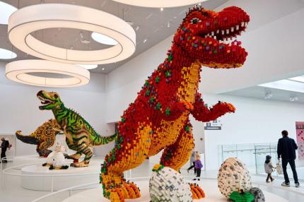 В Дании появился музей LEGO