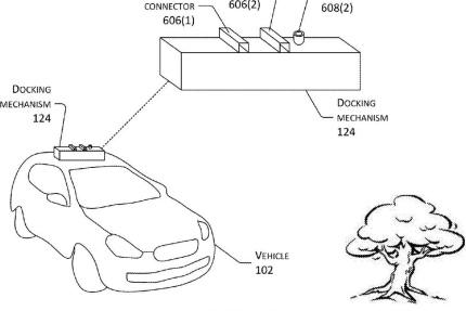 Amazon приобрела патент на дрон-зарядку для электрокаров