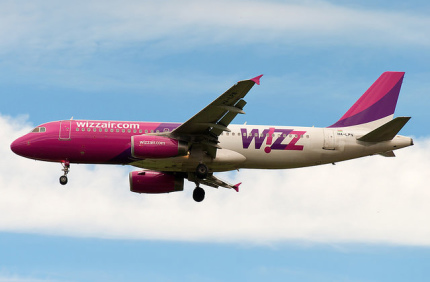 Wizz Air отменила плату за ручную кладь