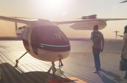 Uber и NASA запустят сеть летающих такси