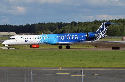 Эстонская Nordica будет чаще летать в Украину