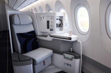 Finnair представила новые салоны в скандинавском стиле