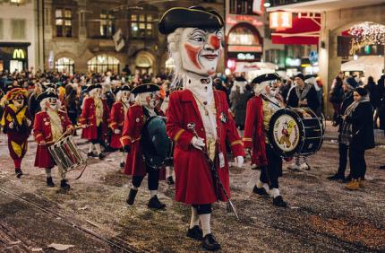 Карнавал в швейцарском Базеле вошел в список культурного наследия ЮНЕСКО