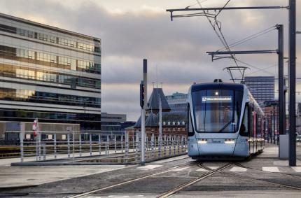 На улицы Дании возвращаются трамваи