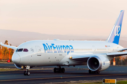 Air Europa устроила танцплощадку в самолете для пассажиров