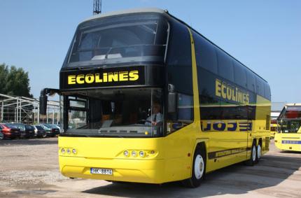 Ecolines устроил зимнюю распродажу билетов с ценами от 5 евро