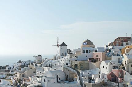 Санторини вводит ограничения на количество круизных туристов