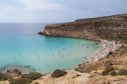 В Италии выбрали самый красивый пляж
