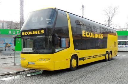 Ecolines устроил весеннюю распродажу билетов от 5 евро