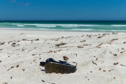 К берегам Австралии вынесло старейшее послание в бутылке