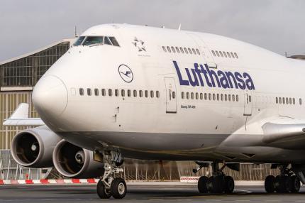 Lufthansa проводит розыгрыш билетов на свои рейсы