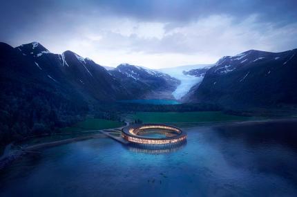 В Арктике построят первый отель на солнечных батареях
