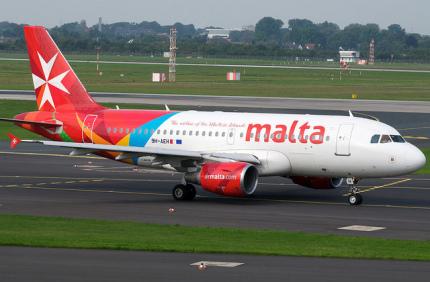 Air Malta будет летать в Украину