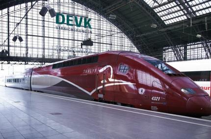 Между аэропортами Парижа и Амстердама запустят скоростной поезд
